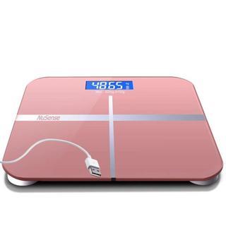 ★コレ、売れてます★エコ 高精度 体重計 USB充電式(体重計/体脂肪計)
