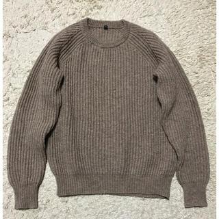 ムジルシリョウヒン(MUJI (無印良品))の無印良品メンズ 畦編みセーターM(ニット/セーター)