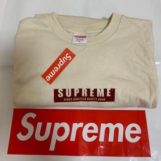 シュプリーム(Supreme)のsupreme 1994L/S Tee  Mサイズ(Tシャツ/カットソー(七分/長袖))
