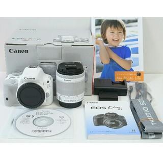 キヤノン(Canon)の★新同品★ Canon EOS Kiss x7 ホワイト レンズ付き(デジタル一眼)