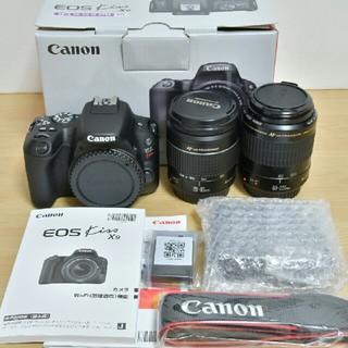 キヤノン(Canon)のCanon EOS Kiss X9 標準&望遠レンズセット(デジタル一眼)