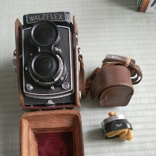 WALTZFLEX 2眼フィルムカメラ ジャンク(フィルムカメラ)