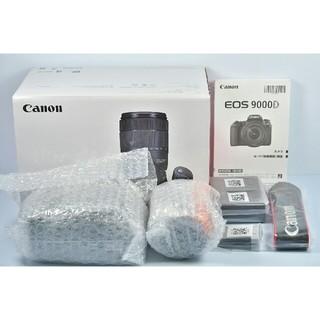 キヤノン(Canon)の新品 Canon EOS 9000D 標準レンズセット(デジタル一眼)
