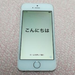 アップル(Apple)の中古品 Softbank iPhone5s 16GB ホワイト A1453(スマートフォン本体)