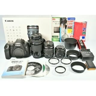 キヤノン(Canon)のCanon EOS 6D 標準&望遠&単焦点トリプルレンズセット(デジタル一眼)