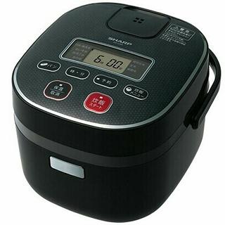 シャープ(SHARP)の炊飯器 SHARP KS-C5H-B(炊飯器)