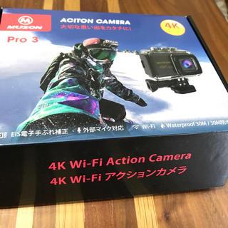 【新型】MUSON(ムソン) アクションカメラ4K(コンパクトデジタルカメラ)