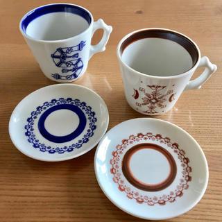 イデー(IDEE)の美品 マグカップ カップ&ソーサー (グラス/カップ)