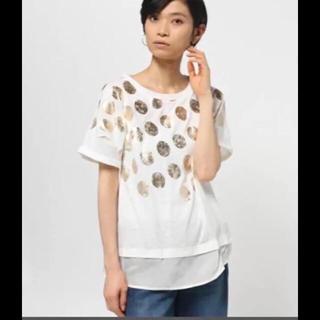 アルカリ(alcali)のalcali ドット Tシャツ 新品未使用品(Tシャツ(半袖/袖なし))