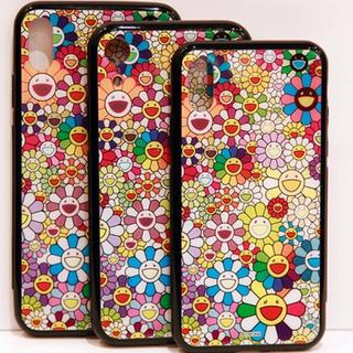 アイフォーン(iPhone)の村上隆 お花ハードケース XR用 カイカイキキ kaikai kiki(iPhoneケース)