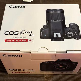 キヤノン(Canon)の新品未開封 Canon EOS Kiss X8i レンズキット(デジタル一眼)
