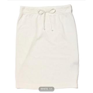 デミルクスビームス(Demi-Luxe BEAMS)の【新品未使用】Demi−Luxe BEAMS ライト裏毛タイトスカート(ひざ丈スカート)