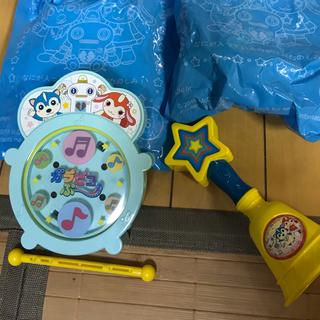 マクドナルド(マクドナルド)のハッピーセット★おかあさんといっしょ★ベル★太鼓(知育玩具)