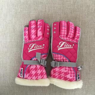 フィラ(FILA)のFila スキー手袋(ウエア/装備)