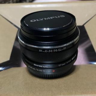 オリンパス(OLYMPUS)のOLYMPUS 単焦点レンズ M.ZUIKO DIGITAL 17mm F1.8(レンズ(単焦点))