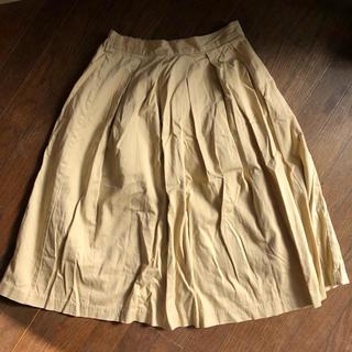 ジーユー(GU)のジーユープリーツスカート(ひざ丈スカート)