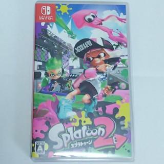ニンテンドースイッチ(Nintendo Switch)のsplatoon2 NINTENDO SWITCH スプラトゥーン2(家庭用ゲームソフト)