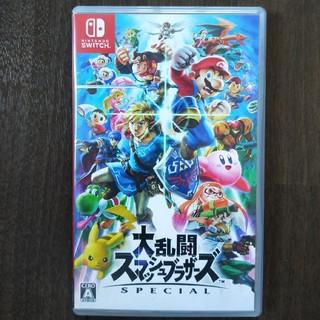 ニンテンドースイッチ(Nintendo Switch)の大乱闘スマッシュブラザーズSPECIAL NINTENDO SWITCH ソフト(家庭用ゲームソフト)