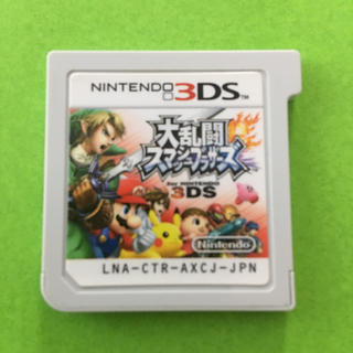 ニンテンドー3DS(ニンテンドー3DS)の「大乱闘スマッシュブラザーズ for ニンテンドー3DS」 (携帯用ゲームソフト)