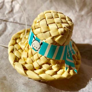 サンリオ(サンリオ)の懐かし サンリオ ポチャッコ 麦わら帽子型 おまけ(キャラクターグッズ)