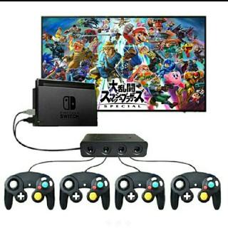 Nintendo Switch - ニンテンドー スイッチ PC ゲームキューブ コントローラ 接続タップ スマブラ