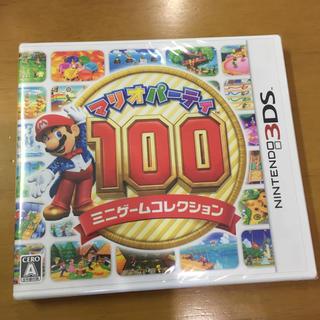 ニンテンドー3DS(ニンテンドー3DS)のマリオパーティ100 ミニゲームコレクション(携帯用ゲームソフト)