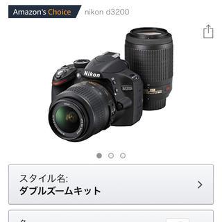 ニコン(Nikon)のnikon d3200 ★付属品完備★(デジタル一眼)