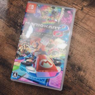 ニンテンドースイッチ(Nintendo Switch)のスイッチ Switch マリオカート8デラックス 送料込み(家庭用ゲームソフト)