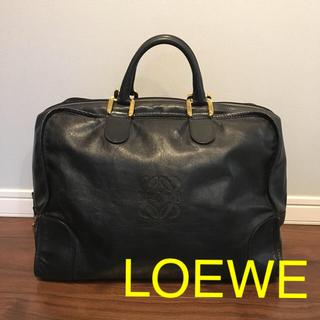ロエベ(LOEWE)のロエベ  アマソナ 40 ブラック ゴールド  LOEWE(ボストンバッグ)