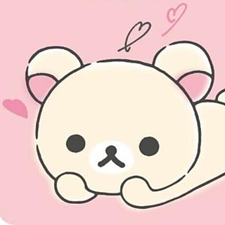 サンエックス(サンエックス)のMaNi様専用♡リラックマ♡折り畳み傘(顔グリップ)♡コリラックマ♡ピンク♡(傘)