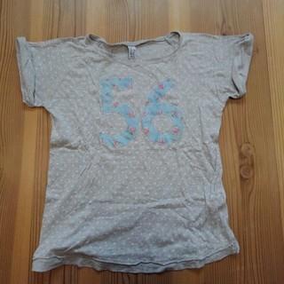 ザラ(ZARA)のZARAドットTシャツ160(Tシャツ/カットソー)
