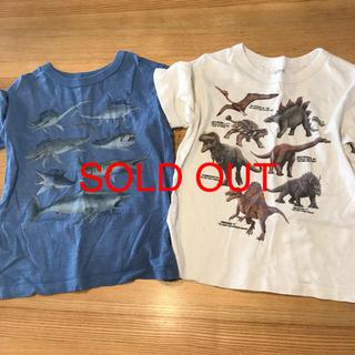 UNIQLO - UNIQLO  110㌢恐竜Tシャツ