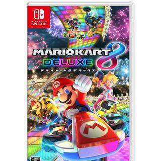 ニンテンドースイッチ(Nintendo Switch)の新品未開封! マリオカート8 デラックス  ニンテンドースイッチ(家庭用ゲームソフト)