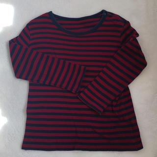 ユニクロ(UNIQLO)のユニクロ◯ボーダーロンT(Tシャツ/カットソー)