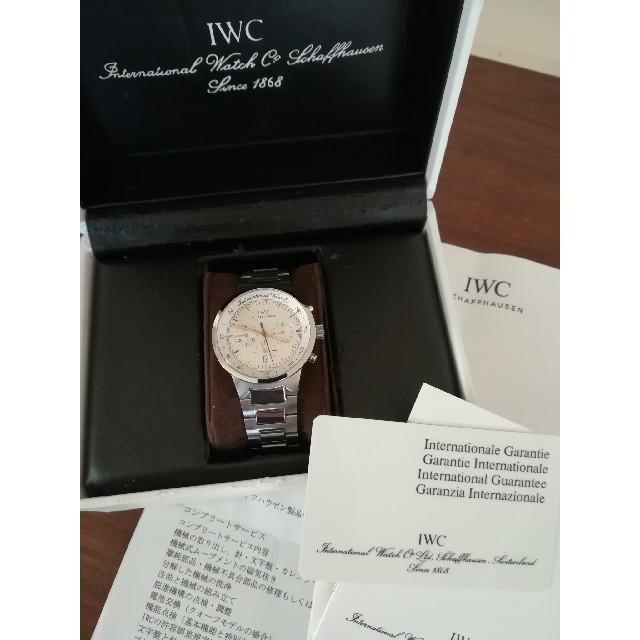 IWC - 超美品 IWC GSTクロノグラフの通販