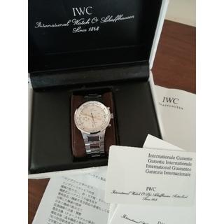 インターナショナルウォッチカンパニー(IWC)の【超美品完動品】 IWC GSTクロノグラフ(腕時計(アナログ))