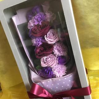 バラ造花 花束♡(香り付き)石鹸フラワー (プレゼントに)(ブーケ)