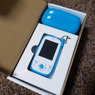 ソフトバンク(Softbank)のみまもりケータイ4 ブルー+ゴムカバー付きソフトバンク (携帯電話本体)
