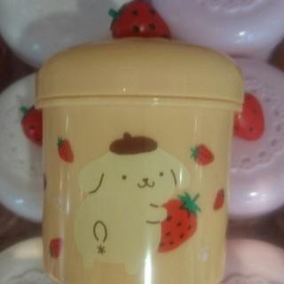 サンリオ(サンリオ)のサンリオ サクマ いちごみるく ポムポムプリン 小物入れ キャンディーポット(キャラクターグッズ)
