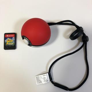ニンテンドースイッチ(Nintendo Switch)のポケモン レッツゴーピカチュウ モンスターボールplus セット(家庭用ゲームソフト)