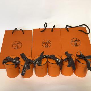 エルメス(Hermes)のエルメス ツイリー 空箱 6個 ショッパー3枚(バンダナ/スカーフ)