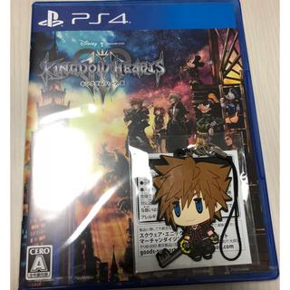 プレイステーション4(PlayStation4)の【新品未開封 特典付】キングダムハーツ3(家庭用ゲームソフト)