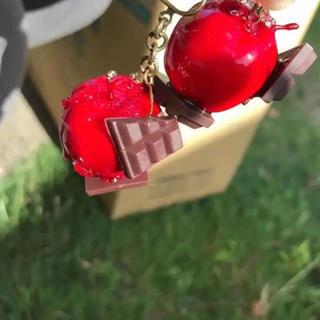 りんごチョコ(スマホストラップ/チャーム)