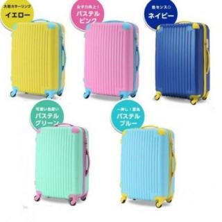 超軽量スーツケース TSAロック搭載 鍵不要のダイヤル式(スーツケース/キャリーバッグ)