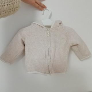 ベビーギャップ(babyGAP)のbaby GAP フード付きリバーシブルセーター(ジャケット/コート)