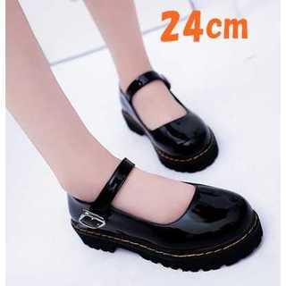 ◆超かわ◆パンプス レディース 歩きやすい 靴 シューズ 黒色 24cm(ハイヒール/パンプス)