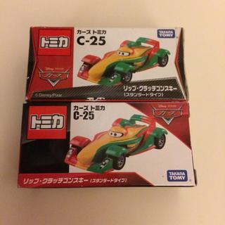 タカラトミー(Takara Tomy)の【新品】カーズトミカ C-25 リップクラッチゴンスキー(2台)(ミニカー)