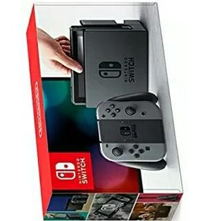 ニンテンドースイッチ(Nintendo Switch)の新品未使用◆任天堂スイッチ本体グレー◆(家庭用ゲーム本体)