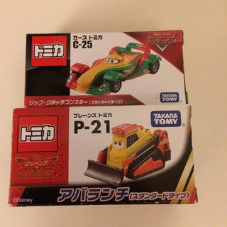 タカラトミー(Takara Tomy)の【新品】トミカ(カーズ&プレーンズ)2台セット(ミニカー)