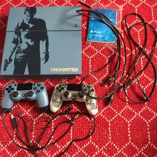 プレイステーション4(PlayStation4)のPS4本体 アンチャーテッドエディション(家庭用ゲーム本体)